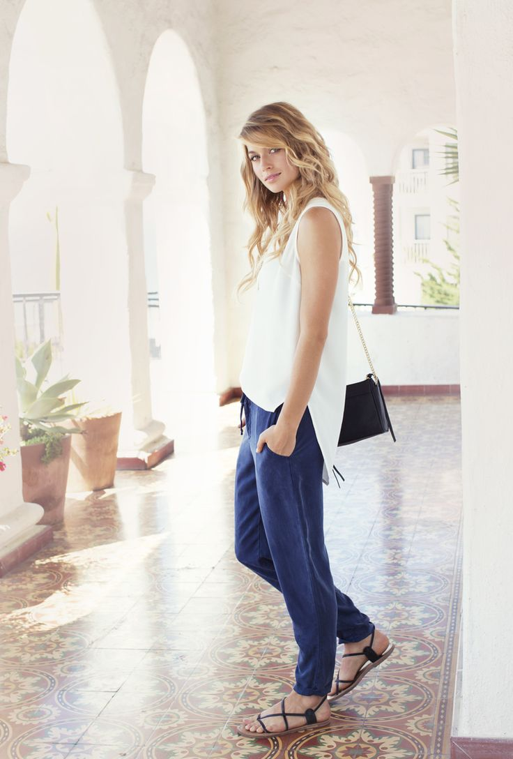Stylish and comfy pants from Black Swan