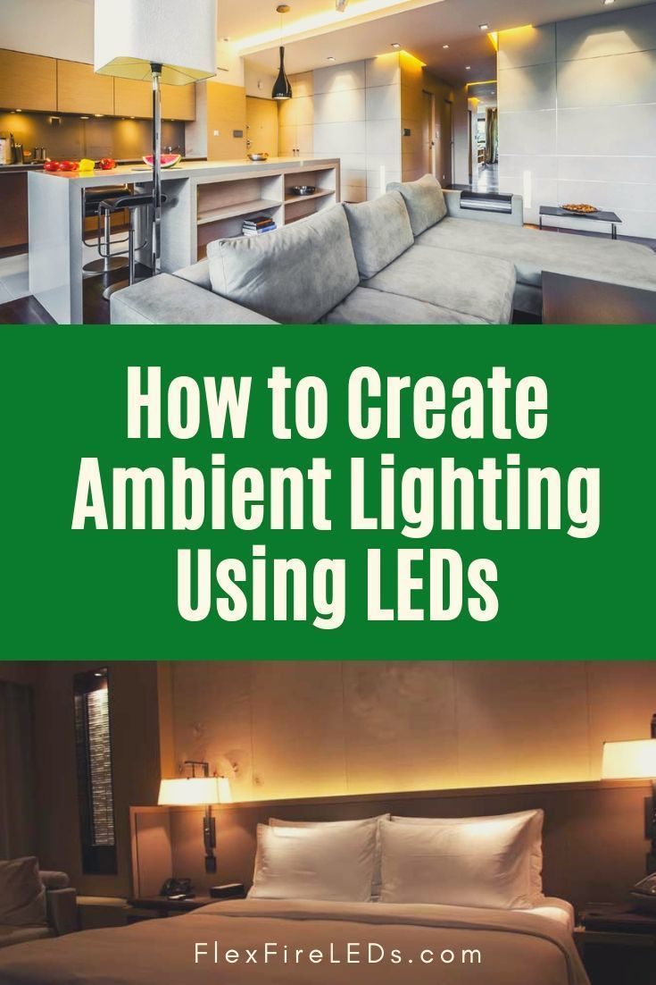 Led Strip Lights Are An Easy And Eco Friendly Way To Add Ambient Lighting To Brighten Up A Room Set A Mood A Ambient Lighting Diy Lighting Led Strip Lighting