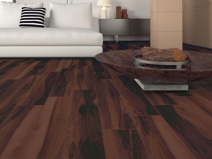 Happy Floors Tigerwood Papaya Wood Look Porcelain Tile Flooring Gives A Bold Rustic Look To This