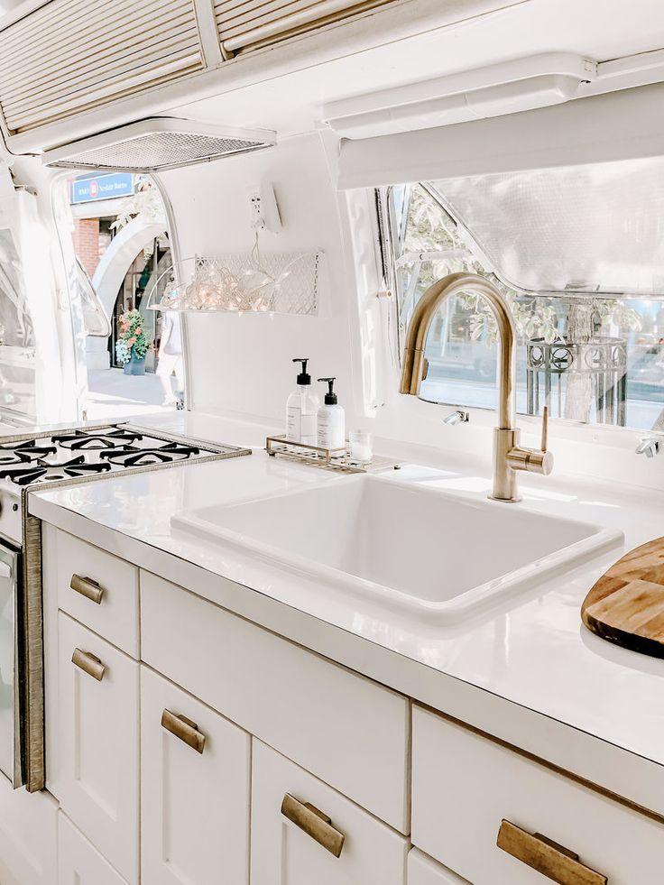 airstream camper RV in 2020 Rustic home interiors
