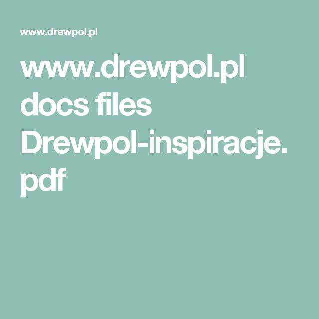www.drewpol.pl docs files Drewpol-inspiracje.pdf