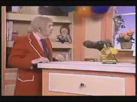 Captain Kangaroo with Mr. Moose--LOVED the ping pong ball drop