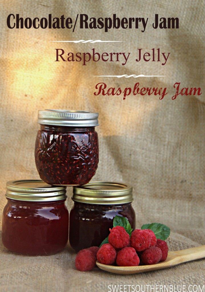 Raspberry Jam & Jelly Recipes