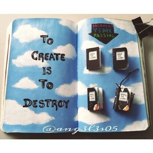 Wreck this journal: ideas