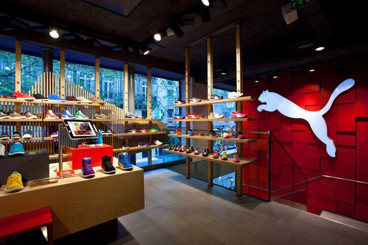 Puma Store by Plajer & Franz Studio, Paris store design