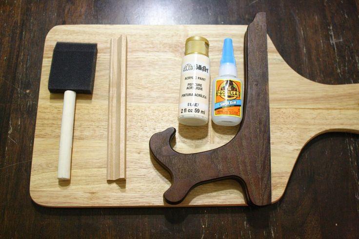 {Do It Yourself} iPad Kitchen Holder