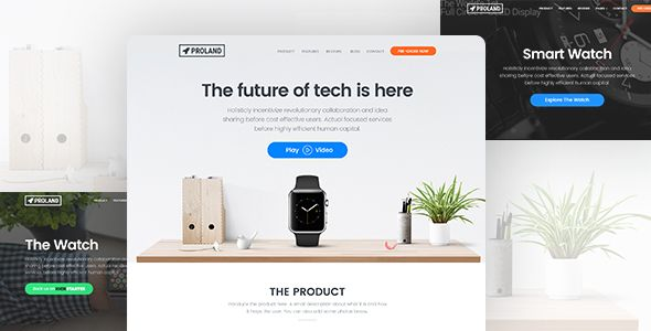 Proland is a creative Product Landing Page Template built with HTML5 and Bootstrap integrated with Paypal, Mailchimp and Email.  Launching a new product? Looking for a kick-ass landing page to mark...