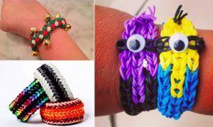 22 modèles de bracelets en élastique