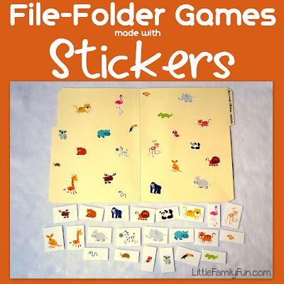 free file folder game templates - 122 best images about file folder games on pinterest