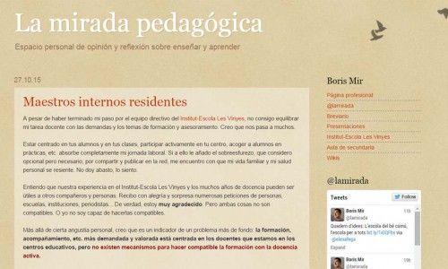 20 blogs con información útil y de interés para la comunidad educativa