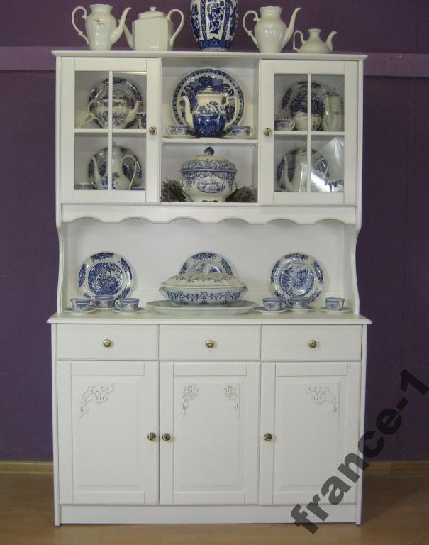 Prowansalski kredens shabby chic biały po renowacj (5043401619) - Allegro.pl - Więcej niż aukcje.
