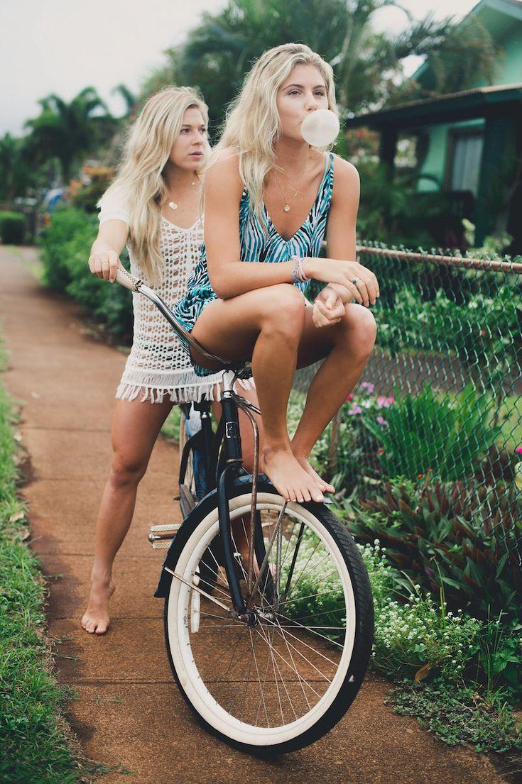 Coco Ho + Quincy Davis #volcomwomens #truetothis #surftripmaui