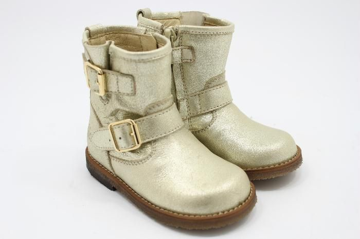 Clic! childrenshoes Gold Buckle by Warmer