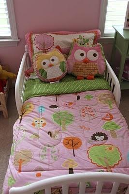 Owl Crib Bed