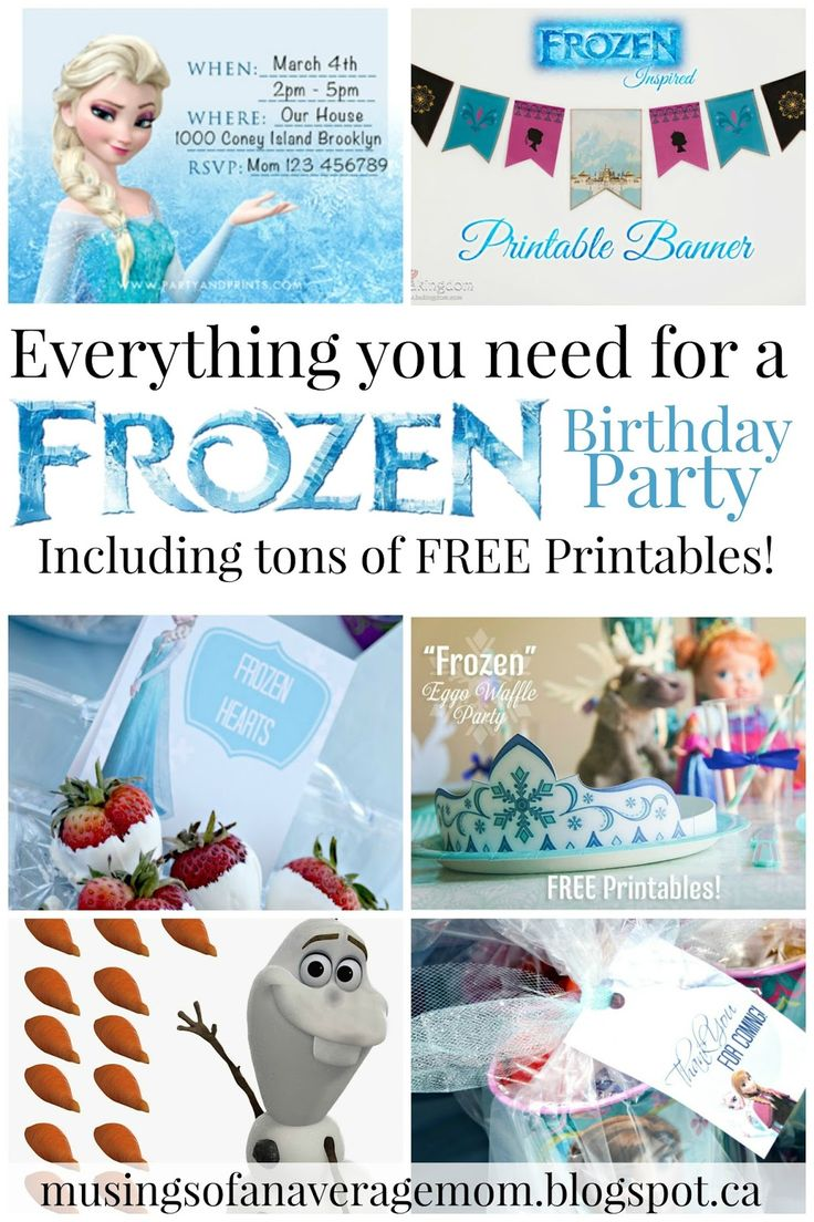 I love the movie Frozen! So does my four year old daughter. But I couldn't find any frozen party supplies in our small city. So here is a co...