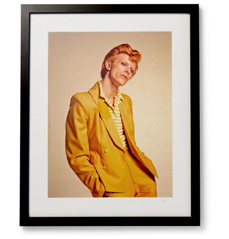 Remembering David Bowie. #UKGiftGuide2017