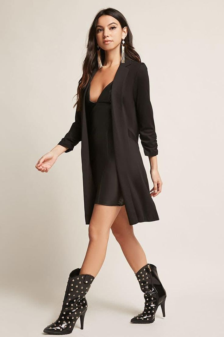 Stud Pointed Toe Boots // 45.00 USD // Forever 21