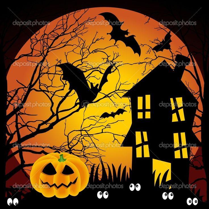 strašidelný dům halloween - Hledat Googlem