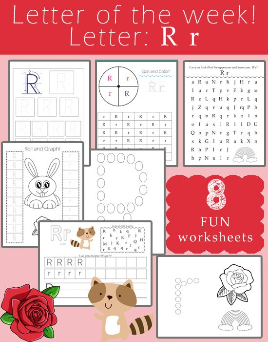 Letter R Preschool Crafts And Activities