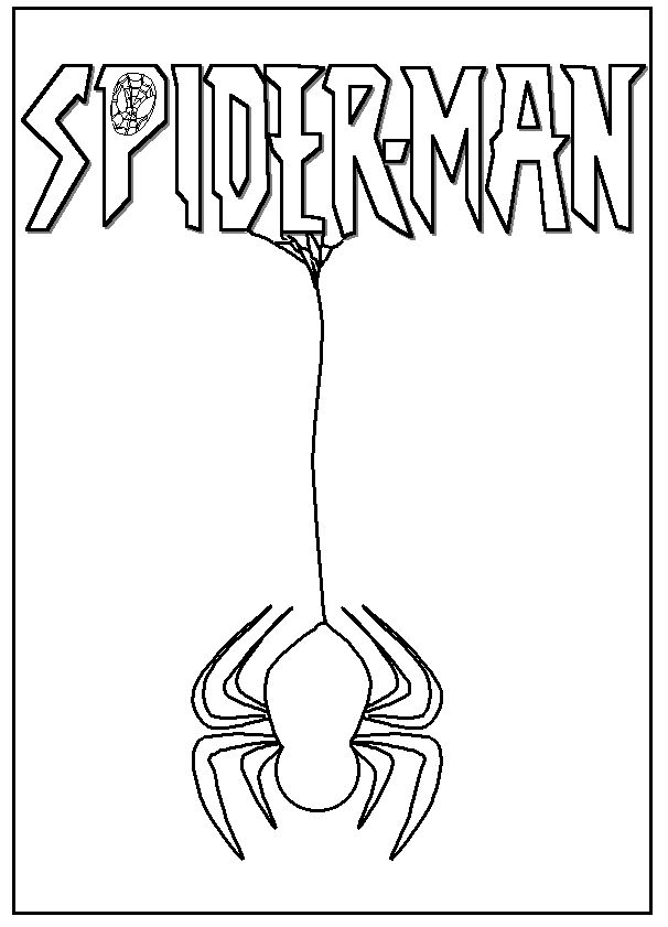 8 best spider man images on Pinterest  Adult coloring Coloring
