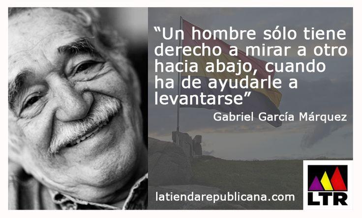 Gabriel García Márquez. www.latiendarepublicana.com