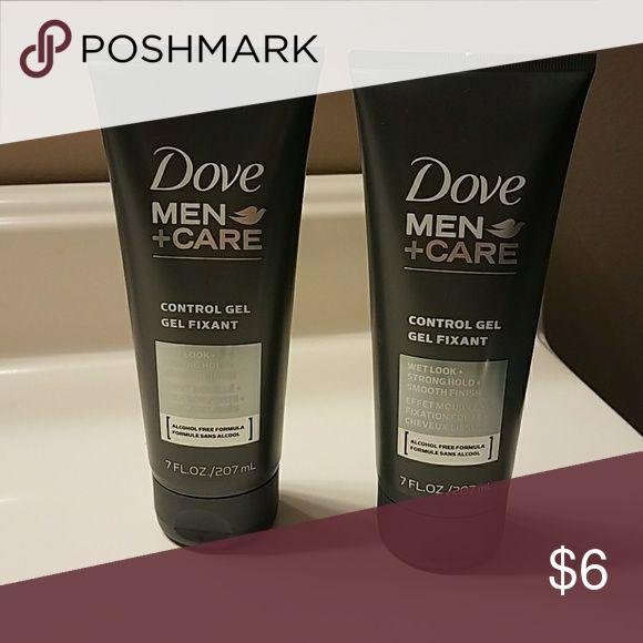Dove Mens Hair Gel Brand New! Control Gel 7 Fl. OZ  for men Dove Other