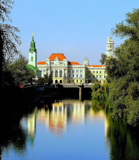 Romania Transylvania Oradea City Hall by MarculescuEugenIancuD60Alaska, via Flickr