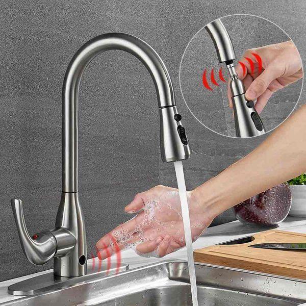 Badijum Budget Touchless Kitchen Faucet Review Touchless Kitchen