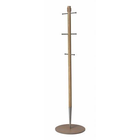 PENCIL er et minimalistisk skandinavisk design-møbel fra LIND  DNA, med mange små detaljer. Inspireret av en simpel  blyant har PENCIL en lett og elegant fremtoning, som er en flott  utsmykning til enhver garderobe. Den tynne stamme av dansk eik  og rustfritt stål er lett plasert på en stabil fot av aluminium og resirkulert lær. PENCIL er en fryd for øyet og et nytt design ikon fra LIND DNA.