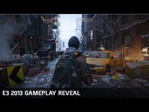 Simply amazing in-game details and wonderful in-game interaction abilities!  Tom Clancy's The Division - E3 Gameplay reveal [EUROPE]