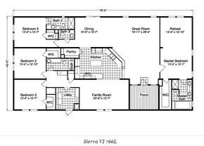 10 great floor plans for mobile and manufactured homes. From vintage to modern, we've found some great floor plans that maximizes space and delivers a great flow for the home.