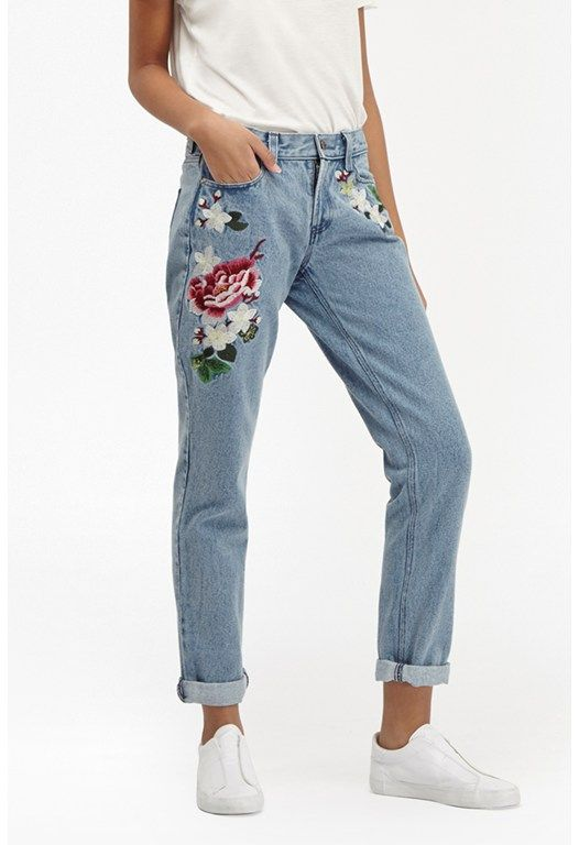 Totes love these jeans! How wild are they? Different to any others I seen so far - French Connection