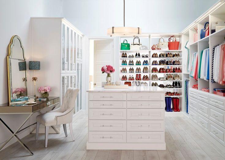 Makeup vanity in closet walk in closet with mirrored makeup vanity modern vanity source minimalist closet
