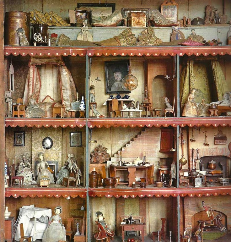 Heydon Hall has one of the oldest doll houses in England. Queen Ann gave it to her goddaughter in 1696, it is over 400 years old!! Check out this whole picture blog it's incredible!