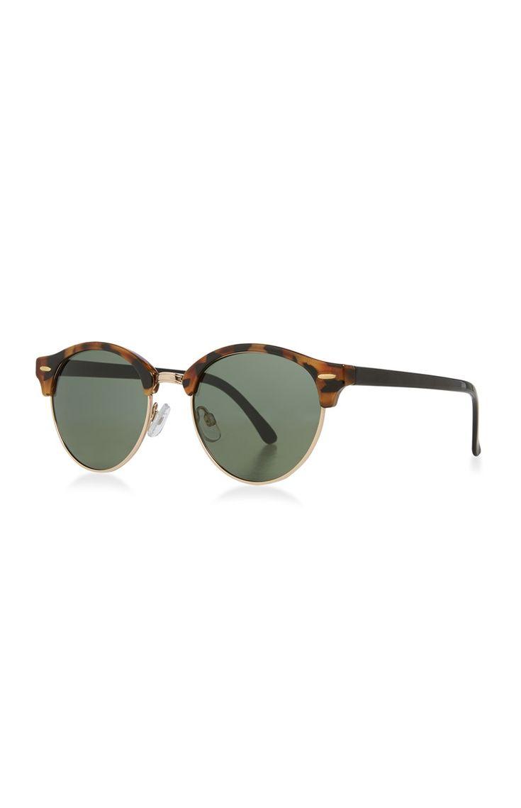 Primark - Ronde zonnebril met schildpadmontuur
