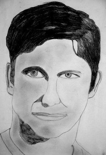 Disegno: ritratti in bianco e nero