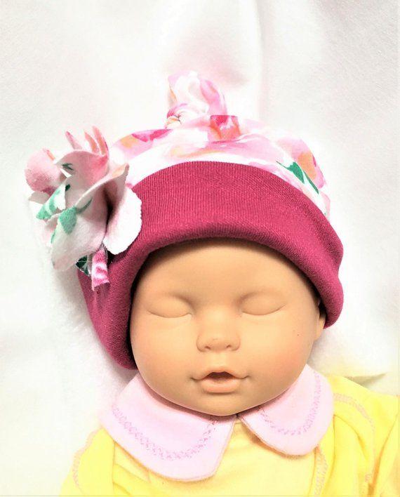 bca73d5ee Baby Knit Fabric Hat, Child's Stretchy Cap, Newborn Soft Cap ...
