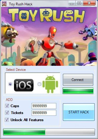 Toy Rush Hack Cheat Unlimited Caps Tickets Download
