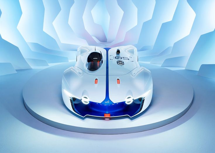 renault's alpine vision GT concept developed for gran turismo 6 - designboom   architecture