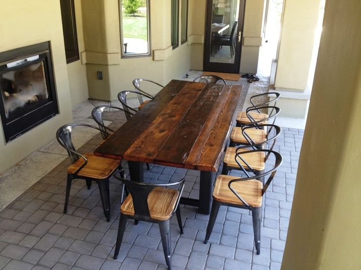 Ana White Simple Outdoor Dining Table DIY Projects Dining Room