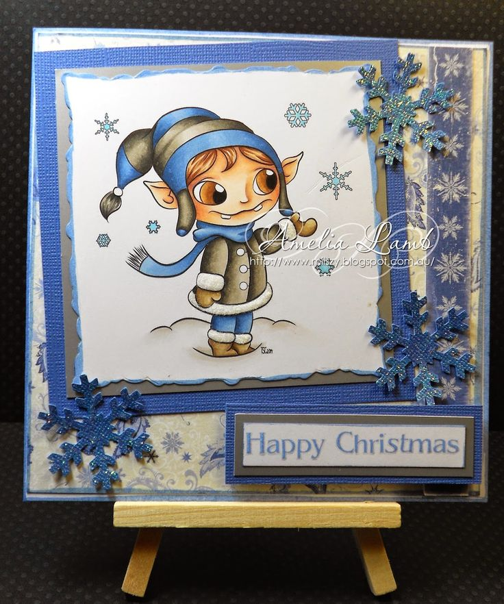 Milly's Cards - The Stamping Chef - Flox