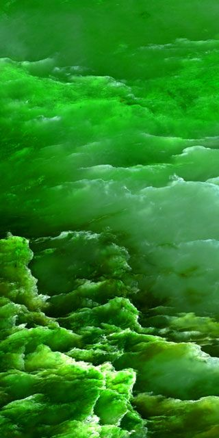 Green -  Jade Clouds by Weston Earth Images