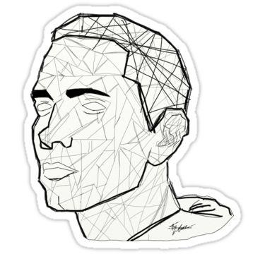 """Eminem"" Stickers by naeyaerts | Redbubble"