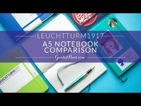 Leuchtturm1917 Medium A5 Notebook - Anthracite Grey, Dot Grid (5.71 x 8.27)