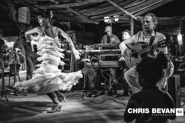 PACO FERNANDEZ AND HIS BAND PERFORMING AT KUMHARAS IN SAN ANTONIO BAY IBIZA