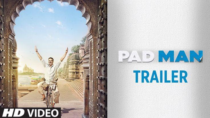 Padman official trailer https://youtu.be/-K9ujx8vO_A
