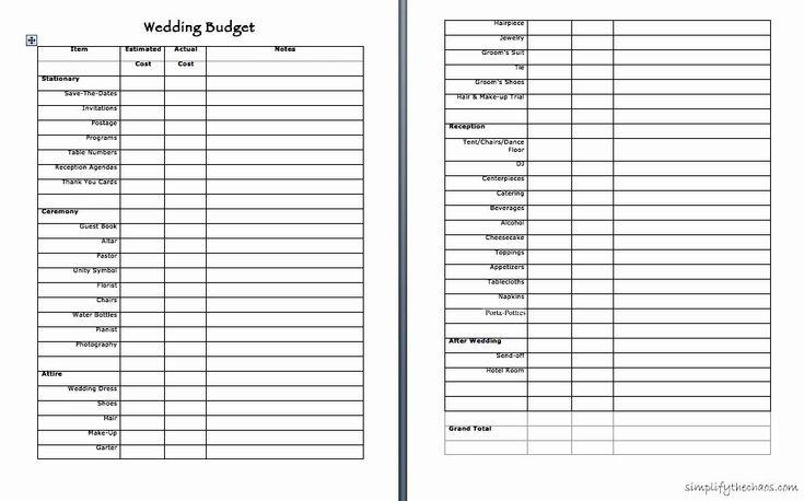 44++ Wedding vendor checklist template information