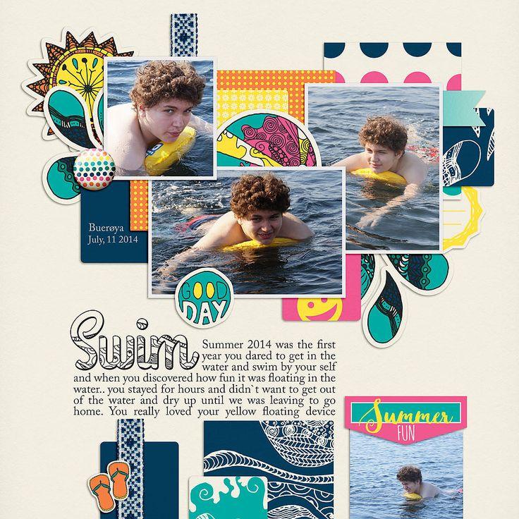 I used: Summer Splash by Melo CC appreciated.