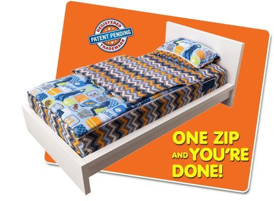 zipit bedding shark tank