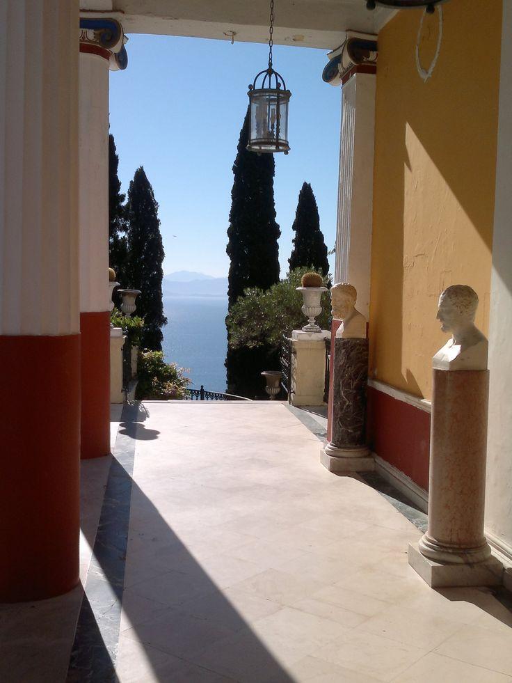 The Achilleion Palace, Corfu, Greece